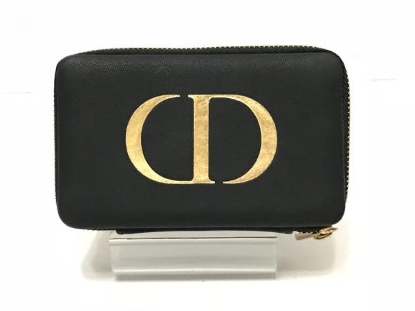 Dior Beauty(ディオールビューティー) 小物入れ 黒 アクセサリーケース 合皮