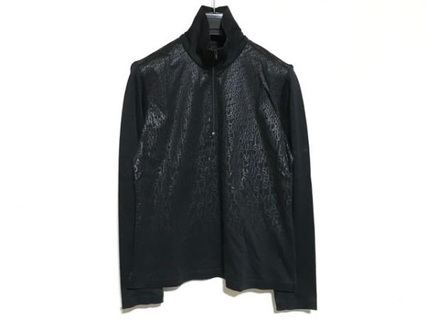 LANVIN SPORT(ランバンスポーツ) 長袖ポロシャツ サイズ38 M レディース美品  黒