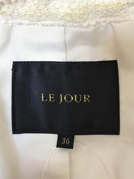 LEJOUR(ルジュール) スカートスーツ サイズ36 S レディース アイボリー