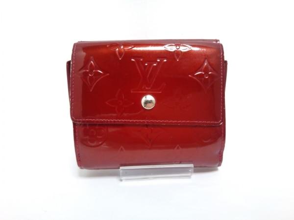 ルイヴィトン Wホック財布 モノグラムヴェルニ ポルトフォイユ・エリーズ M93529