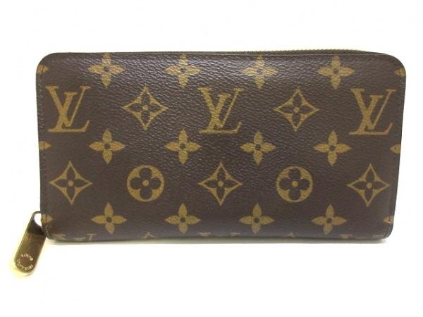 ルイヴィトン 長財布 モノグラム ジッピー・ウォレット M41894 ローズ・バレリーヌ
