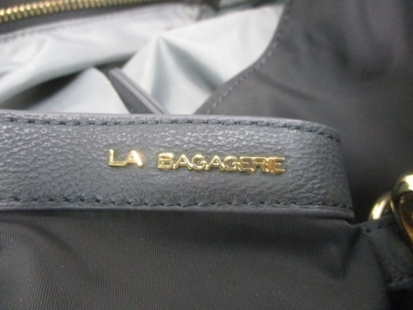 LA BAGAGERIE(ラバガジェリー) リュックサック 黒 ナイロン