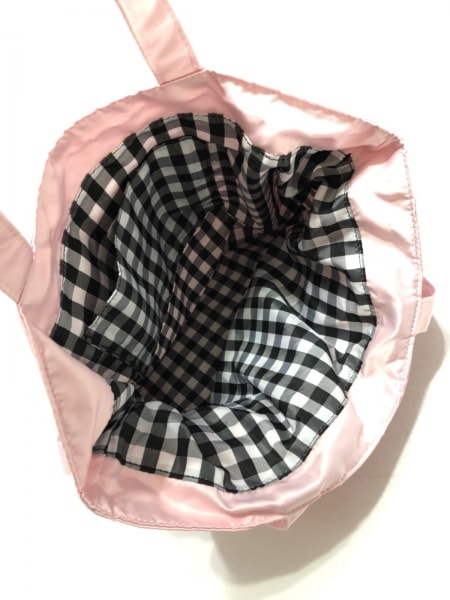 Maison de FLEUR(メゾンドフルール) トートバッグ ピンク リボン ナイロン