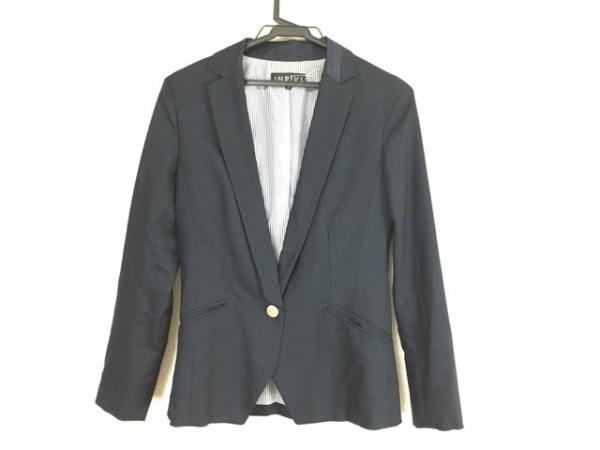 INDIVI(インディビ) ジャケット サイズ36 S レディース美品  ネイビー