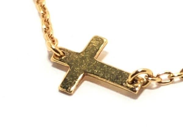 AURORA GRAN(オーロラグラン) ネックレス美品  K18YG クロス