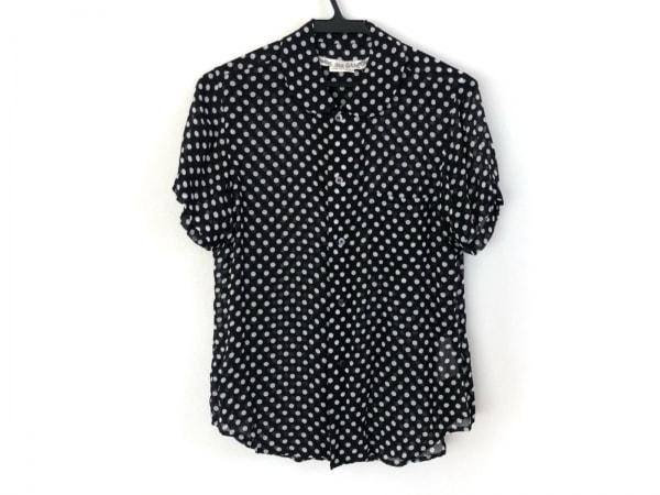 コムデギャルソン 半袖シャツブラウス サイズS レディース美品  黒×白 ドット柄