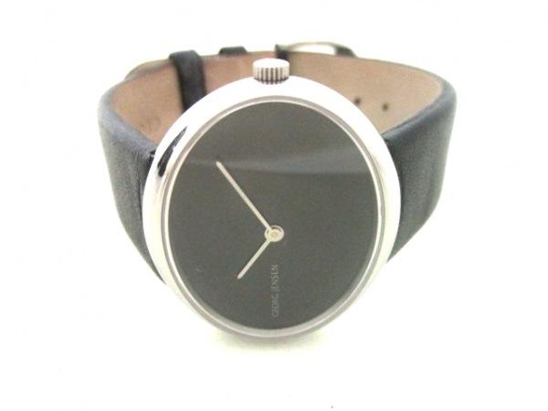 GEORG JENSEN(ジョージジェンセン) 腕時計 - ボーイズ 黒