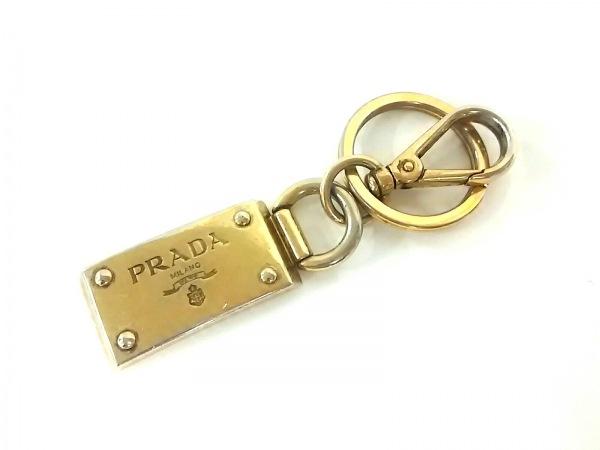 PRADA(プラダ) キーホルダー(チャーム) ゴールド 金属素材