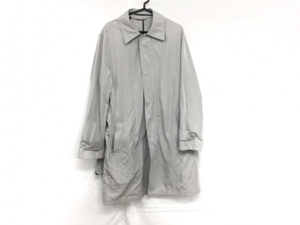 ErmenegildoZegna(ゼニア) コート サイズ48 XL メンズ美品  ライトグレー 春・秋物