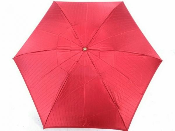 YvesSaintLaurent(イヴサンローラン) 折りたたみ傘 レッド 化学繊維 1