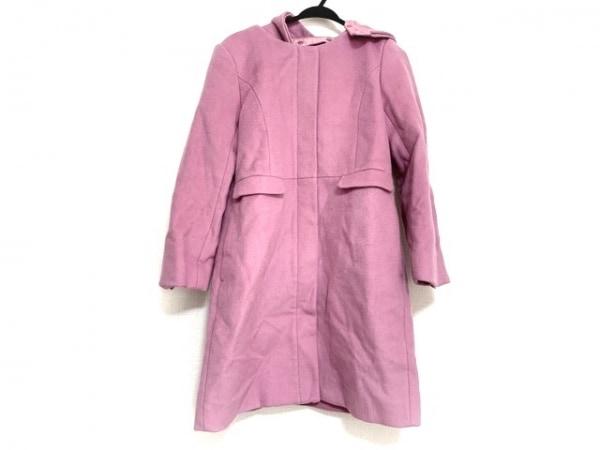 Miia(ミーア) コート サイズ3 L レディース美品  ピンク 冬物/ジップアップ