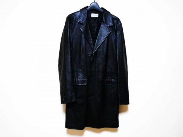 MORGAN(モルガン) コート サイズM メンズ 黒 レザー/冬物