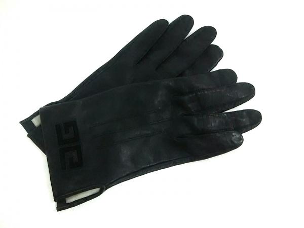 GIVENCHY(ジバンシー) 手袋 レディース 黒 レザー