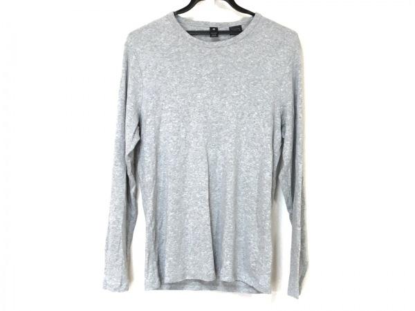 G-STAR RAW(ジースターロゥ) 長袖Tシャツ メンズ ライトグレー