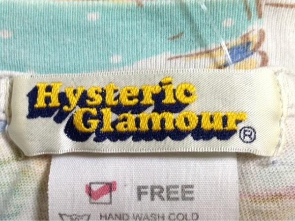 HYSTERIC GLAMOUR(ヒステリックグラマー) 半袖Tシャツ サイズF レディース