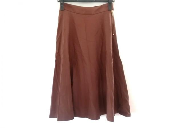 Shinzone(シンゾーン) スカート サイズ34 S レディース美品  ブラウン