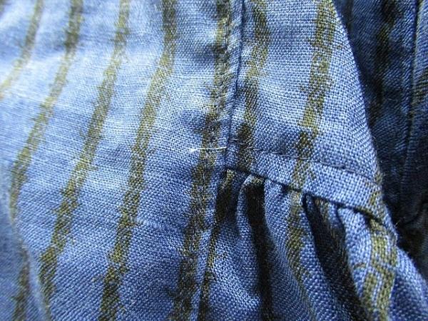 コムデギャルソン 半袖シャツブラウス サイズS レディース美品  ブルー×黒