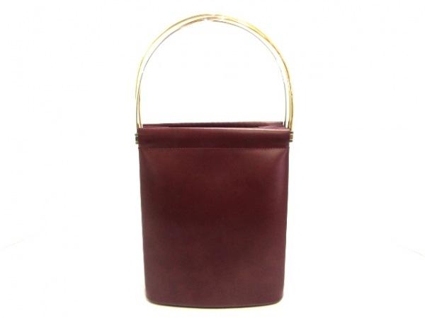 Cartier(カルティエ) ハンドバッグ美品  トリニティ ボルドー×スリーカラーゴールド