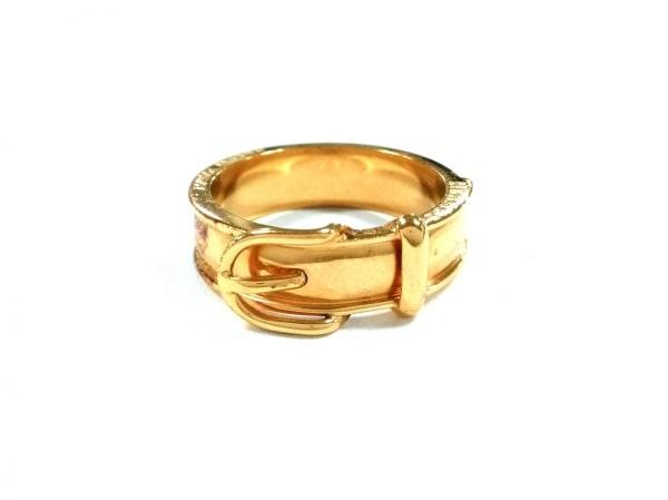 HERMES(エルメス) スカーフリング ブックルセリエ 金属素材 ゴールド
