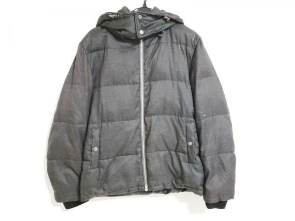 ABAHOUSE(アバハウス) ダウンジャケット サイズ3 L レディース ダークグレー ecru