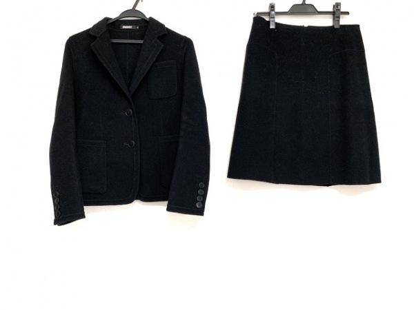 DKNY(ダナキャラン) スカートスーツ サイズ6 M レディース美品  黒 冬物