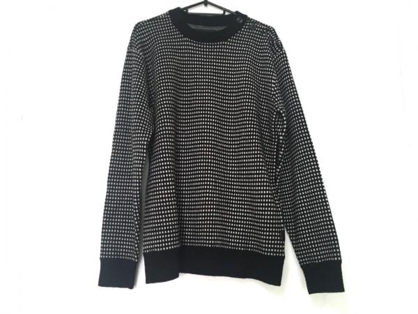 G-STAR RAW(ジースターロゥ) 長袖セーター サイズS メンズ 黒×白