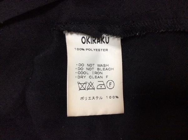 OKIRAKU(オキラク) チュニック レディース 黒 シースルー