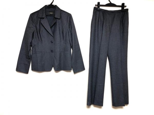 Leilian(レリアン) レディースパンツスーツ サイズ13 L レディース ダークグレー