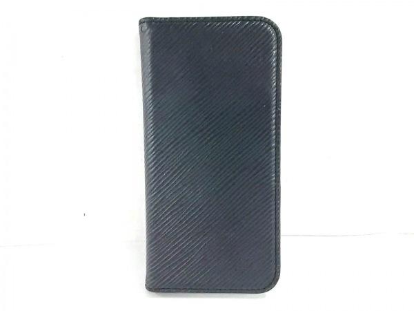 ルイヴィトン 携帯電話ケース エピ新品同様  IPHONEX&XSフォリオ M64469 ノワール