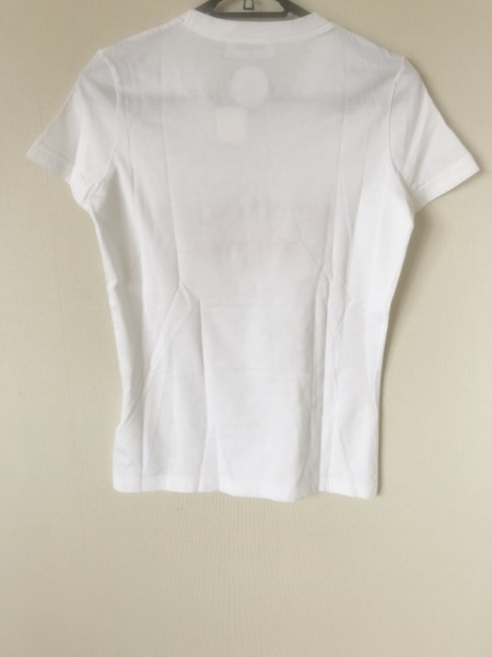 DSQUARED2(ディースクエアード) 半袖Tシャツ サイズS レディース美品  白×レッド