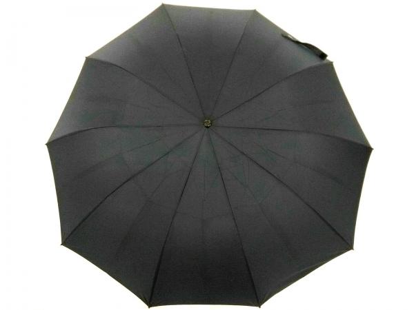 フォックスアンブレラ 折りたたみ傘新品同様  ダークネイビー ポリエステル