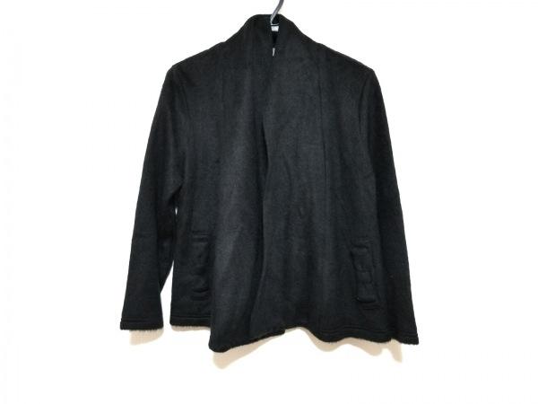 ギャラリービスコンティ ブルゾン サイズ2 M レディース美品  黒 リボン/冬物