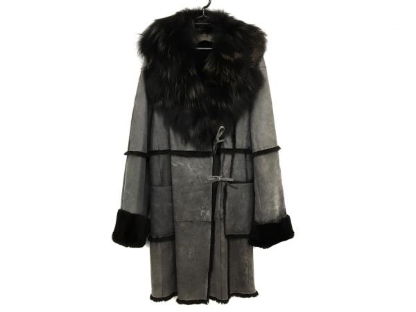 Laurel(ローレル) コート サイズ36 S レディース美品  グレー 冬物