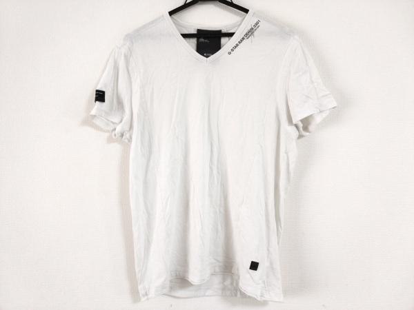 G-STAR RAW(ジースターロゥ) 半袖Tシャツ サイズM メンズ 白