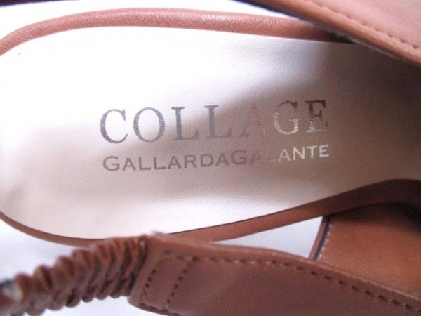 ガリャルダガランテ パンプス 36 レディース ブラウン COLLAGE レザー