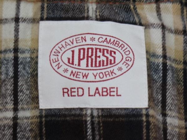 J.PRESS(ジェイプレス) コート サイズ11 M レディース オレンジ 冬物/RED LABEL