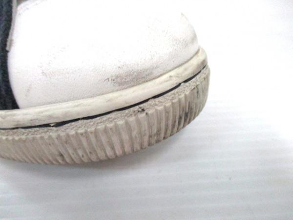 DSQUARED2(ディースクエアード) スニーカー 41 メンズ ダークネイビー×レッド×白