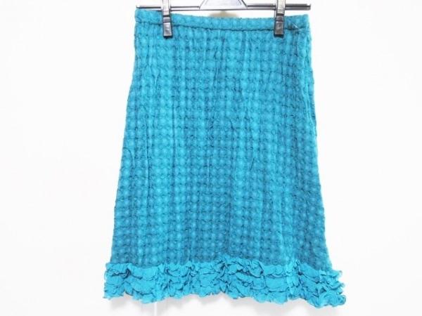 NOKO OHNO(ノコオーノ) スカート サイズ40 M レディース美品  グリーン