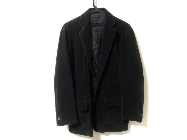 JILSANDER(ジルサンダー) ジャケット サイズ44 S メンズ 黒 コーデュロイ