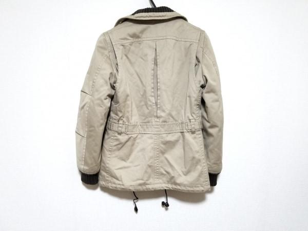 ディースクエアード コート サイズ44 S メンズ美品  ベージュ×ダークブラウン 冬物