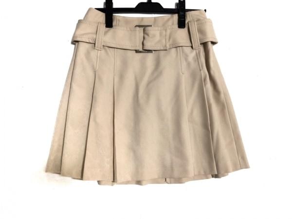 ボディドレッシングデラックス スカート サイズ9 M レディース美品  ベージュ