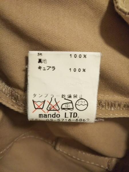 mando(マンド) トレンチコート サイズ36 S レディース カーキ 春・秋物