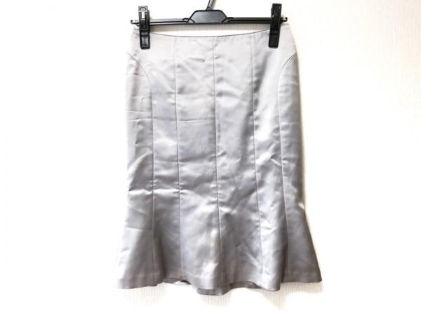 MATERIA(マテリア) スカート サイズ36 S レディース シルバー 1