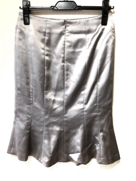 MATERIA(マテリア) スカート サイズ36 S レディース シルバー 2