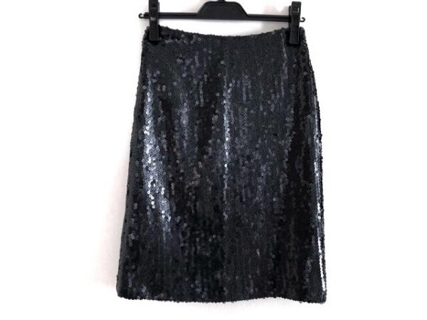 CHANEL(シャネル) スカート サイズ34 S レディース美品  P30962 黒 スパンコール