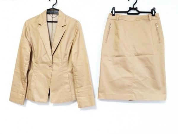 ef-de(エフデ) スカートスーツ サイズ11 M レディース美品  ベージュ