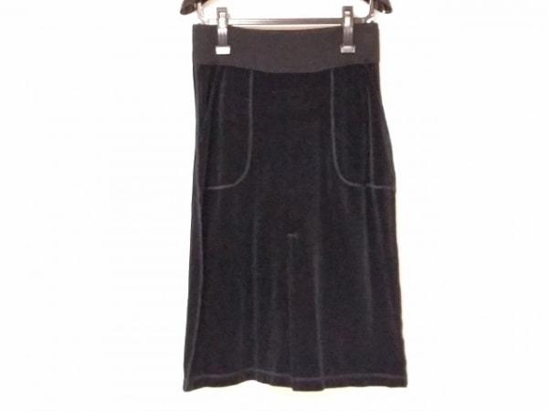 SONIARYKIEL(ソニアリキエル) スカート サイズS レディース美品  黒 ベロア