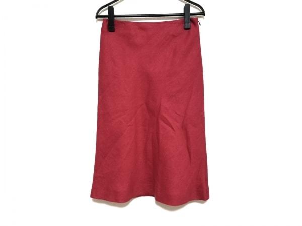 FENDI(フェンディ) スカート サイズ40 M レディース美品  レッド