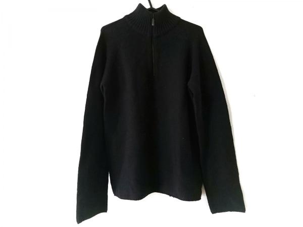 アルマーニコレッツォーニ 長袖セーター サイズ38 M メンズ美品  ダークネイビー