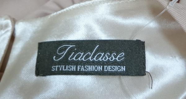 Tiaclasse(ティアクラッセ) ワンピース サイズL レディース ベージュ